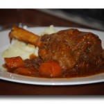 Delicious Oven Roasted Lamb Shank
