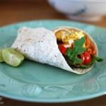 Chicken, Avo & Rocket Tortilla Wraps