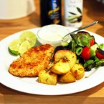 Parmesan Crumbed Chicken Recipe