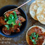 Spicy Chicken Livers and Herb Pancakes