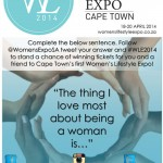 Win Tickets to The Women's Lifestyle Expo