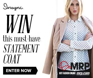Win an Insync Statement Coat from MR Price