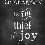 Inspiration ~ Comparison