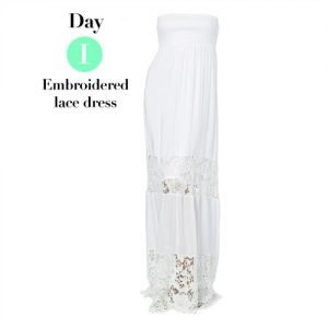 Guess 14 Dresses in 14 Days DAY 1