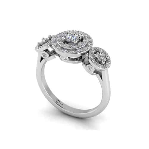WHY-Love-Vintage Diamond Ring