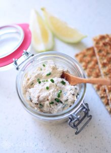 Smoked Peppered Mackerel Pate