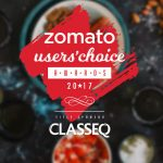 The Classeq Zomato User's Choice Awards