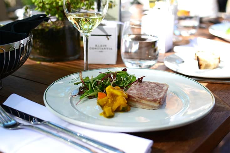 The Bistro @ Klein Constantia Winter Menu