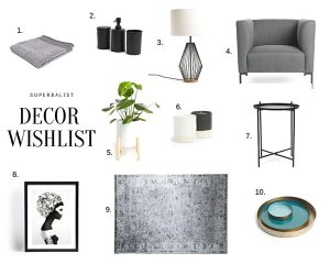 Superbalist Decor Wishlist