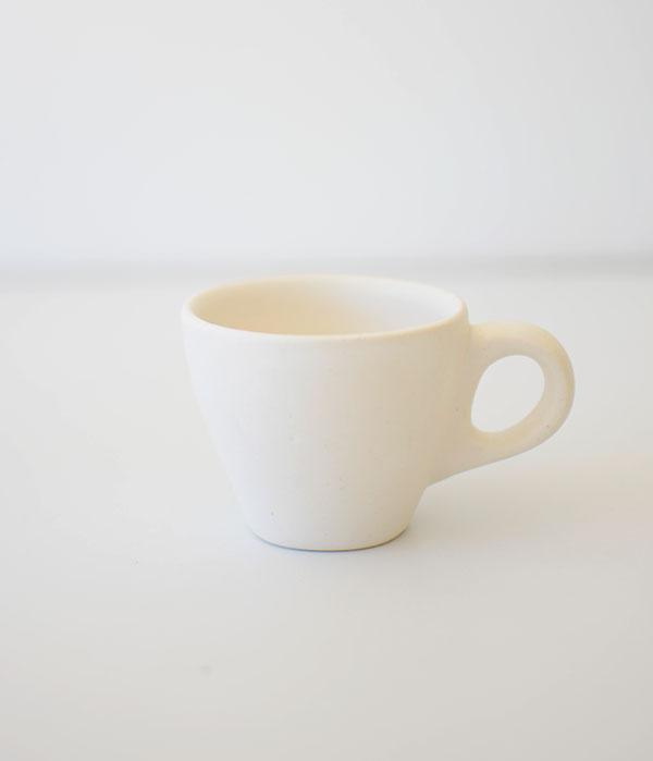 Ceramic Espresso Cup-Matte White