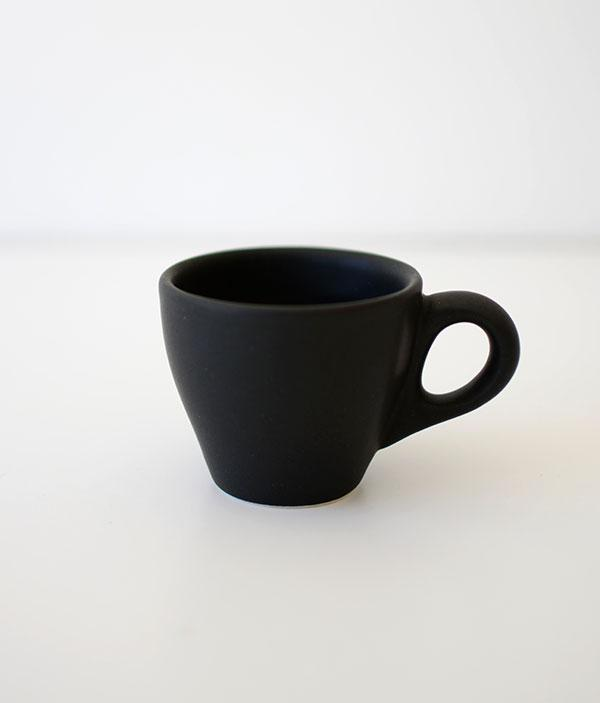 Ceramic Espresso Cup-Matte Black