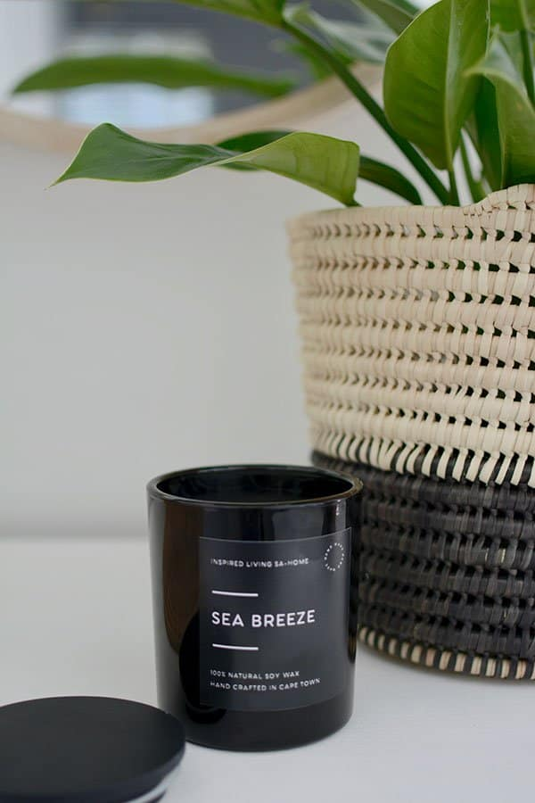 Soy Scented Candle Inspired Living SA Home Decor